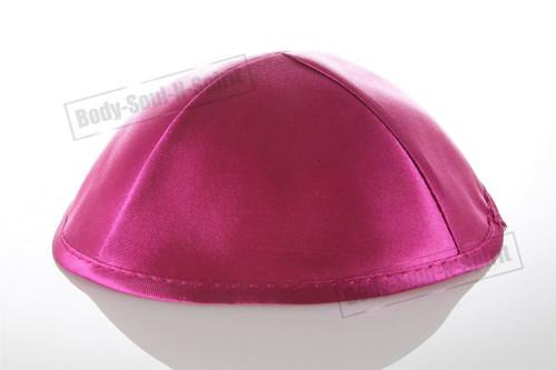 Pink Satin Kippah Yarmulke Tribal Jewish Yamaka Kippa Israel Hat Covering Cap