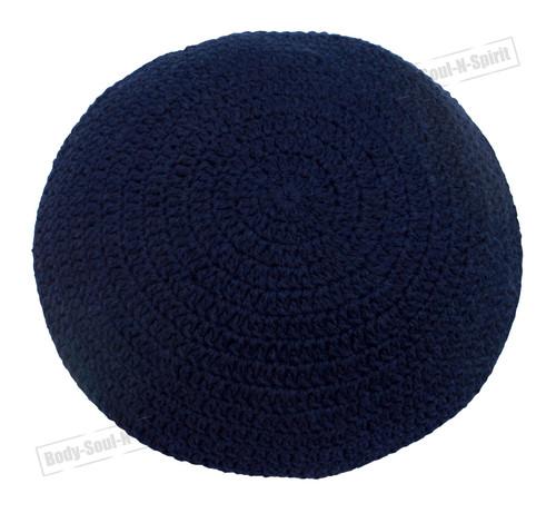 Blue Jewish Holy scared cupola Yarmulke Knitted Yamaka Kippa Hat Covering Cap