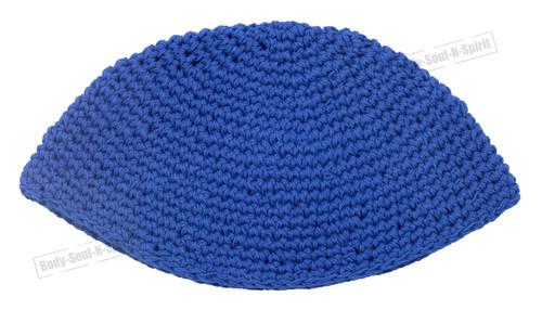 Blue Knitted Kippah Yarmulke Tribal Jewish Hat covering Cap Holy Scared cupola
