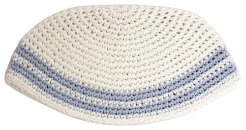 Holy Israel Yarmulke Knitted CLASSIC Tribal Jewish Yamaka Kippa Hat Covering Cap