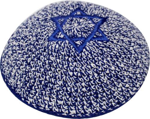 Jeans Star of David Knitted Kippah Yarmulke Tribal Jewish Yamaka Kippa Israel