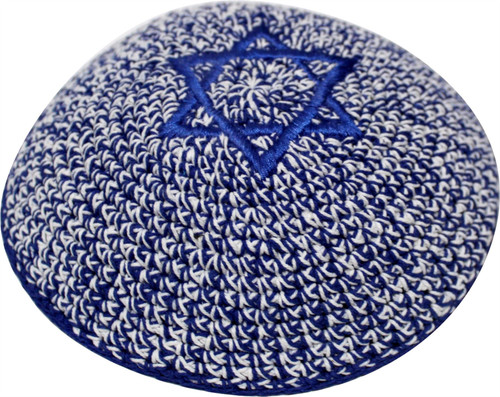 Jeans Star of David Knitted Kippah Yarmulke Tribal Jewish Yamaka Kippa Israel