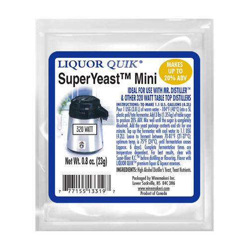LiquorQuik® SuperYeast Mini, 23g