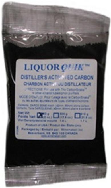 LiquorQuik® Distiller's Activated Carbon (DAC), (CarbonSnake Refill), 85g