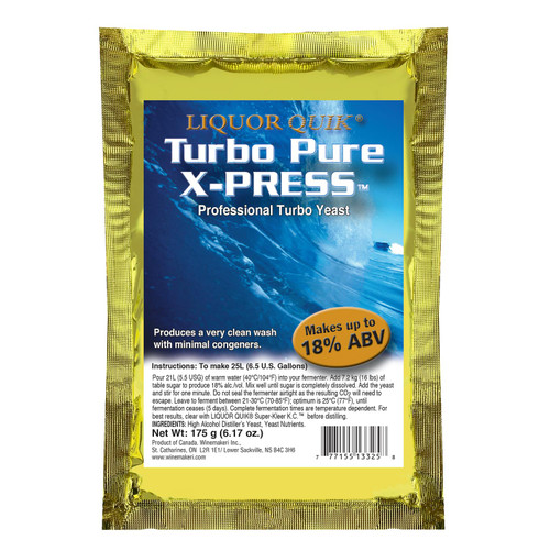 LiquorQuik® Turbo Pure X-Press, 175g
