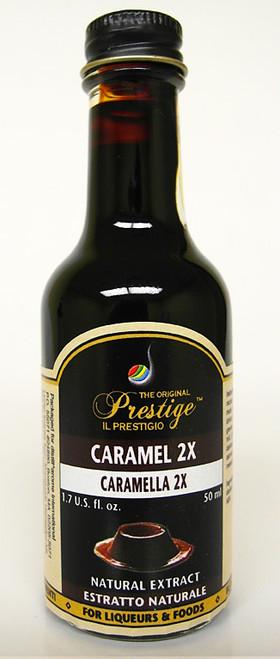 LQ Prestige Caramel 2X Essence, 50ml