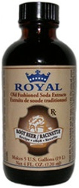 Royal Root Beer Ext, 4 Fl. Oz./114 ml