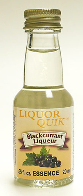 LIQUOR QUIK Blackcurrant Liqueur Essence, 20ml