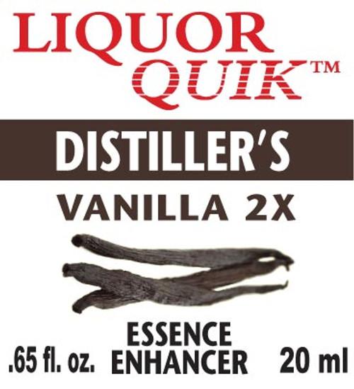 LiquorQuik™ Distiller Vanilla 2X Essence