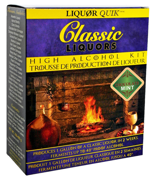 Classic Liquors 4L High Alcohol Kit - Chocolate Mint