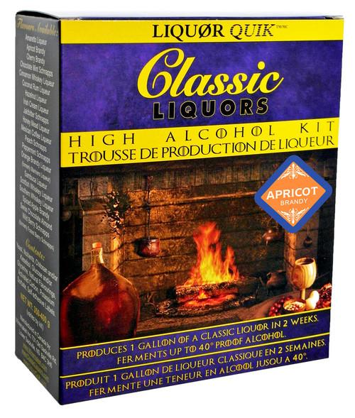 Classic Liquors 4L High Alcohol Kit - Apricot Brandy