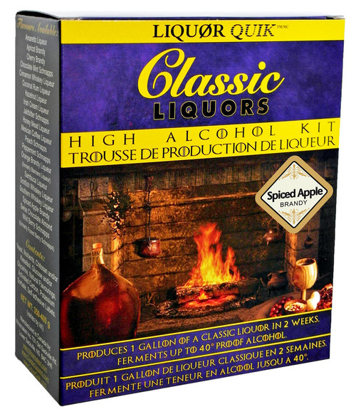 Classic Liquors 4L High Alcohol Kit - Spiced Apple Brandy