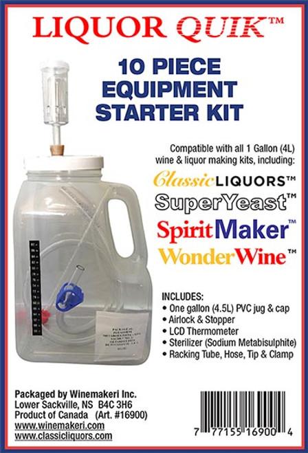 LiquorQuik® - 10 Piece Equipment Starter Kit