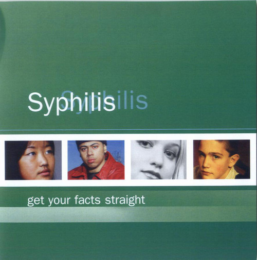 Get Your Facts Straight: Syphilis STI Card (50 cards per pack)