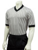 Smitty Ultra Mesh Grey Basketball Referee Shirt