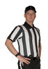 "Cliff Keen Short Sleeve 2"" Stripe Ultra-Mesh Football Referee Shirt"