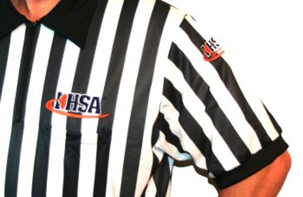 Illinois IHSA Cliff Keen Football Referee Shirt