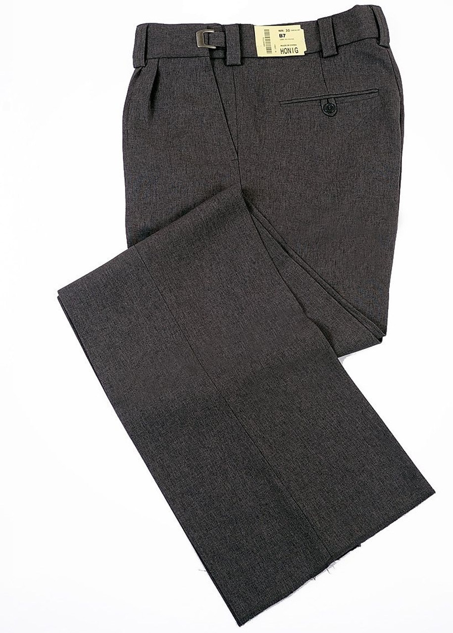 Honig's Charcoal Grey Combo Umpire Pants