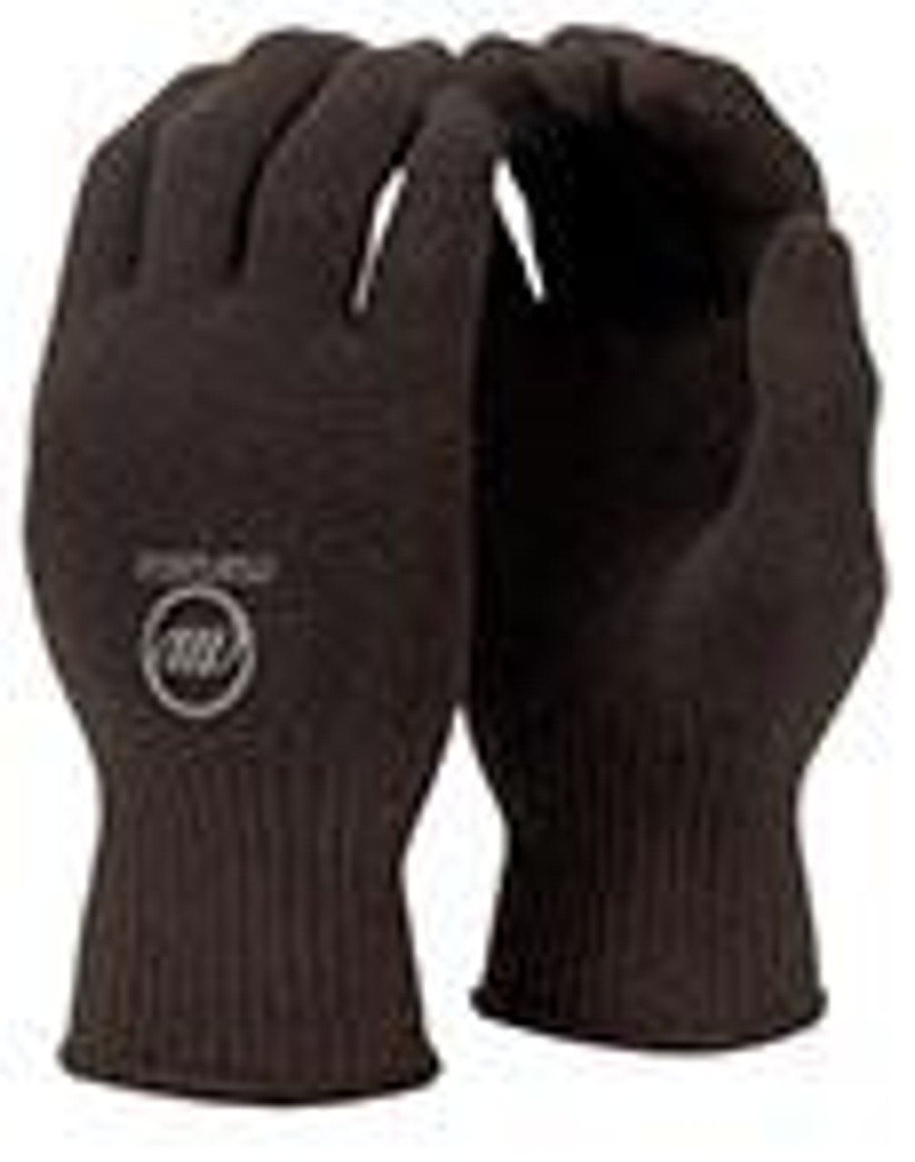 Manzella Black Knit Referee Gloves with Control Dot