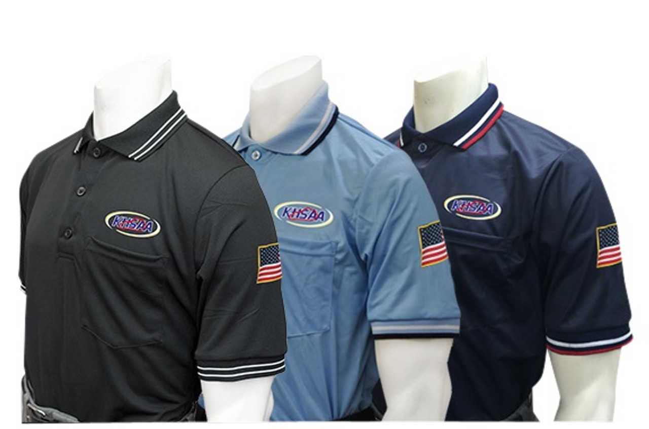 Kentucky KHSAA Short Sleeve Dye Sublimated Umpire Shirt