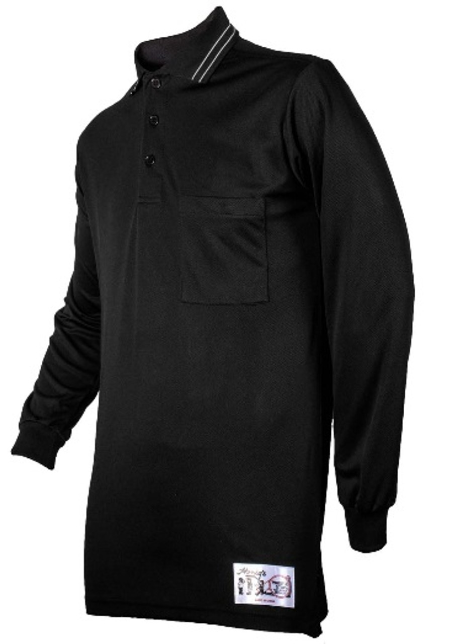 Honig's Black Long Sleeve Umpire Shirt
