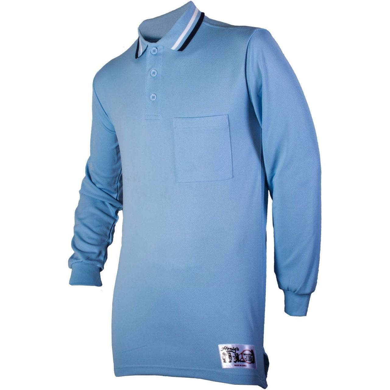 Honig's Powder Blue Long Sleeve Umpire Shirt