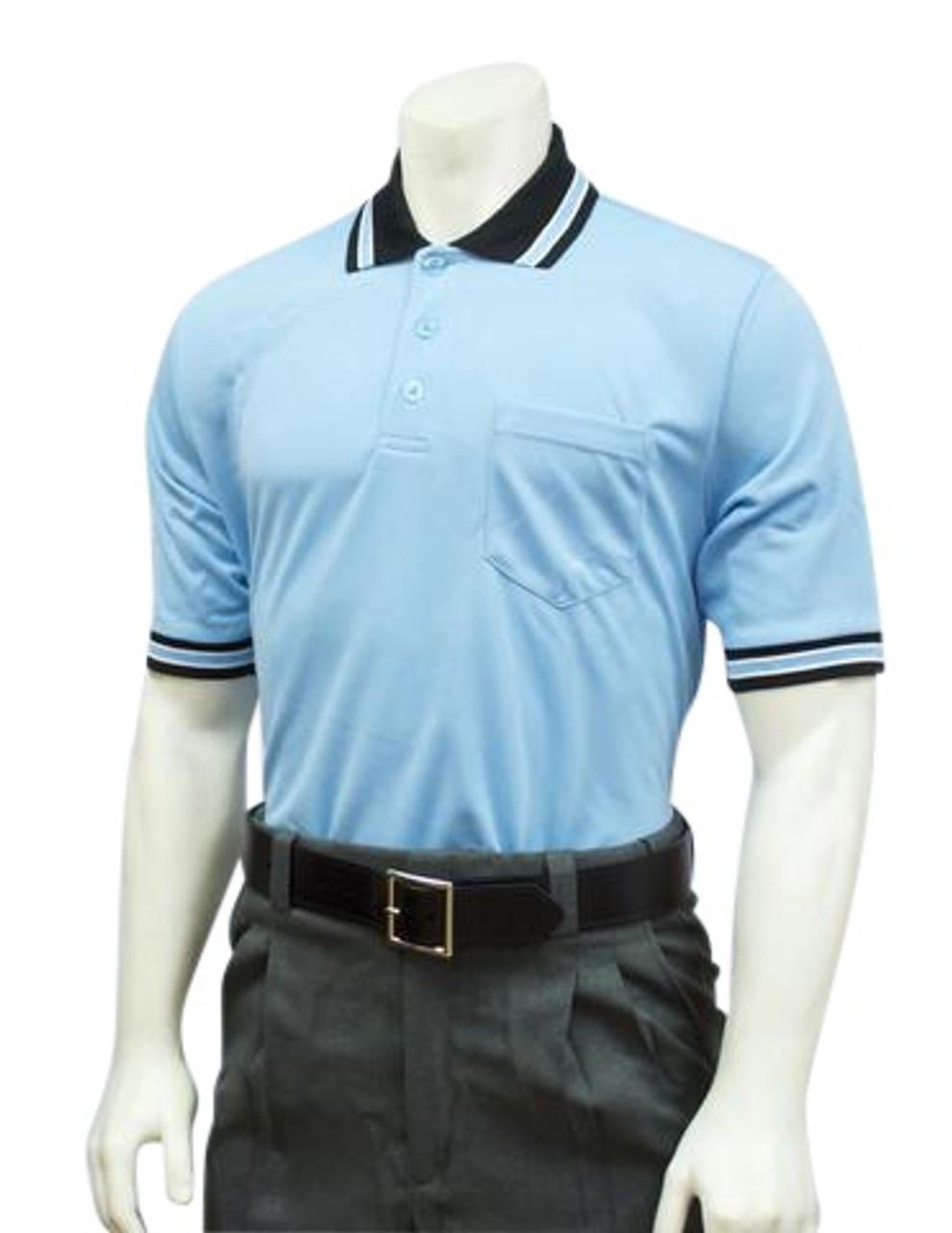 Black With Powder Blue /& White Trim Major League Umpire Jacket