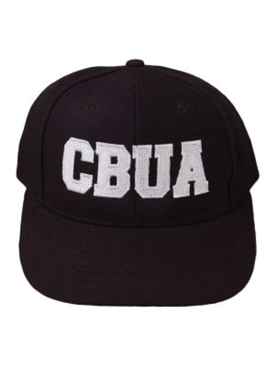 CBUA Fitted Wool 6-stitch Umpire Cap