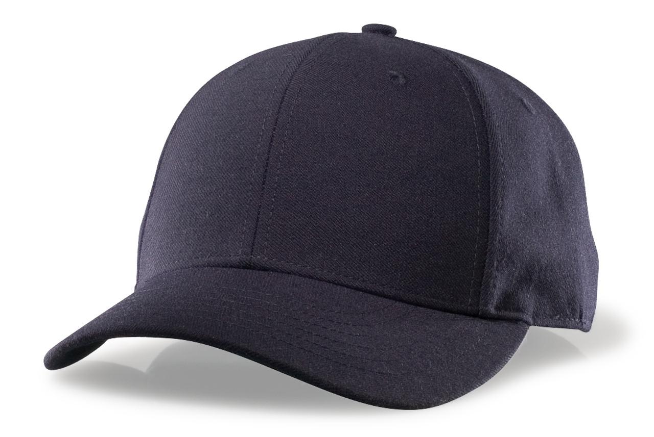 Richardson Adjustable Wool Long Base Umpire Cap