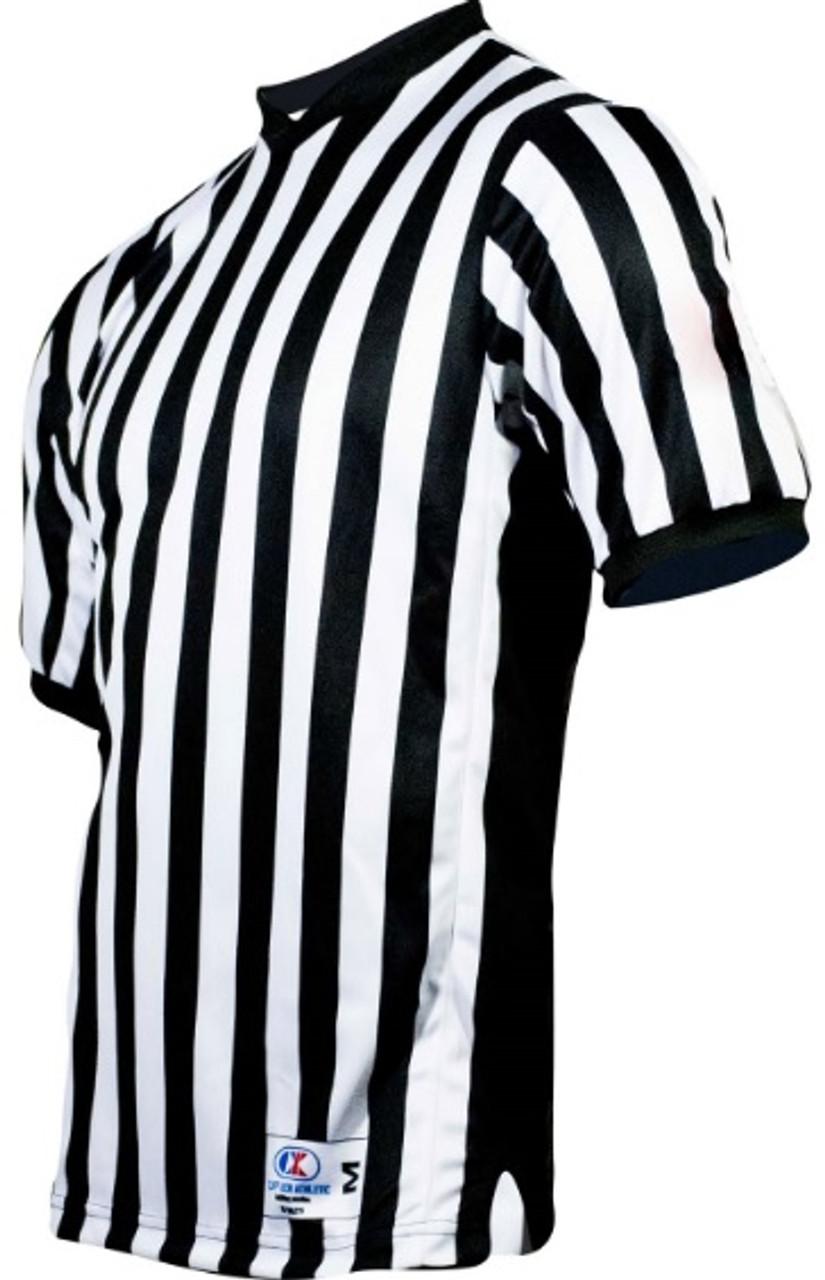 Cliff Keen Ultra Mesh Side Panel Basketball Referee Shirt