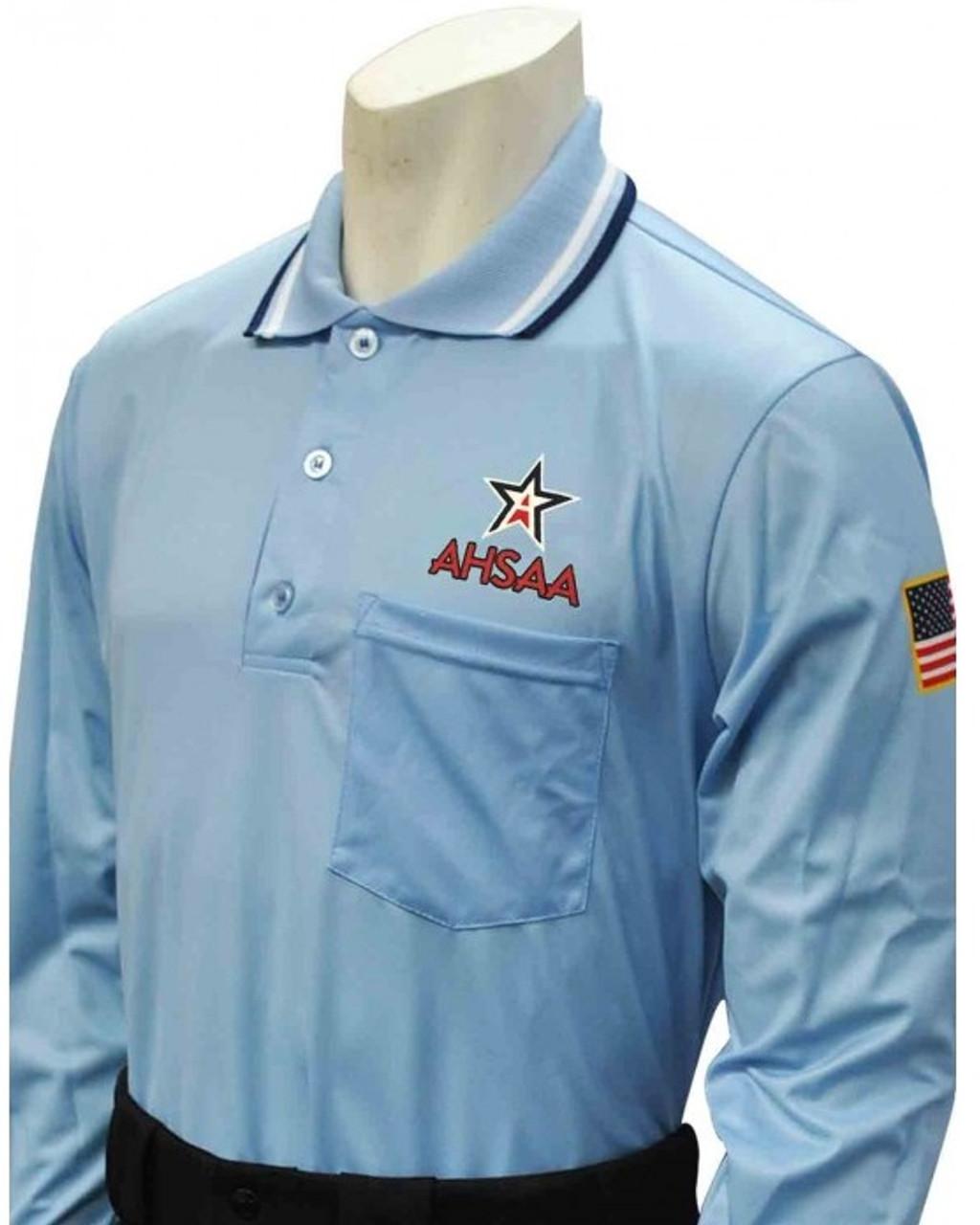 Alabama AHSAA Dye Sublimated Long Sleeve Powder Umpire Shirt