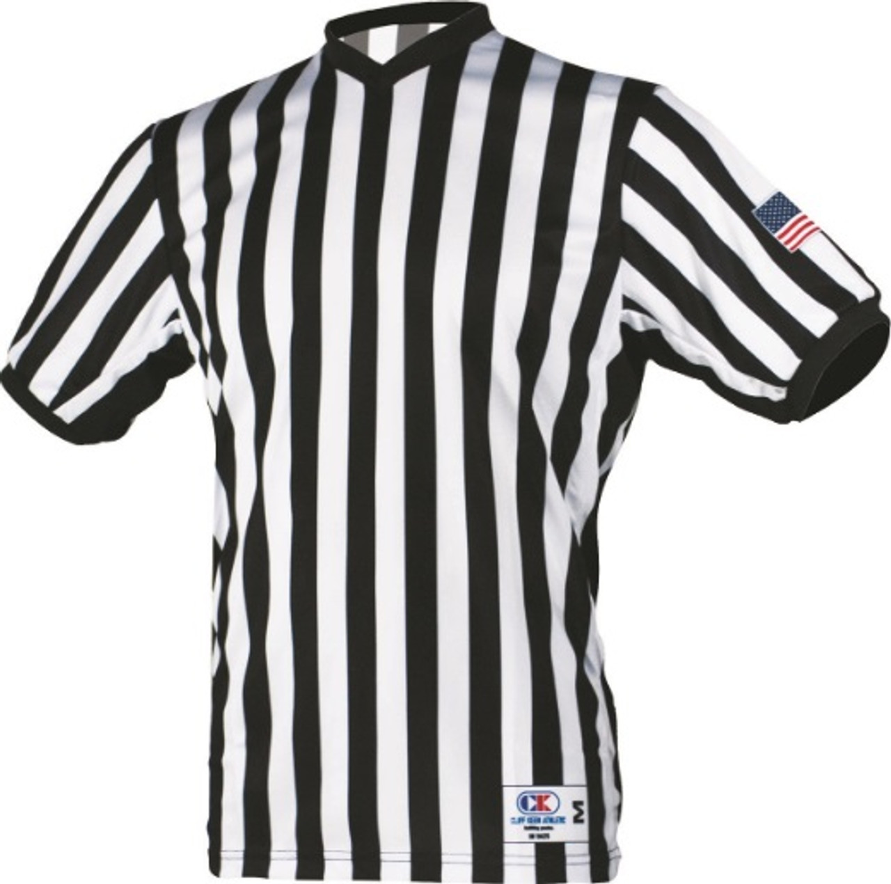 Cliff Keen Side Panel Basketball Shirt with Sublimated Flag