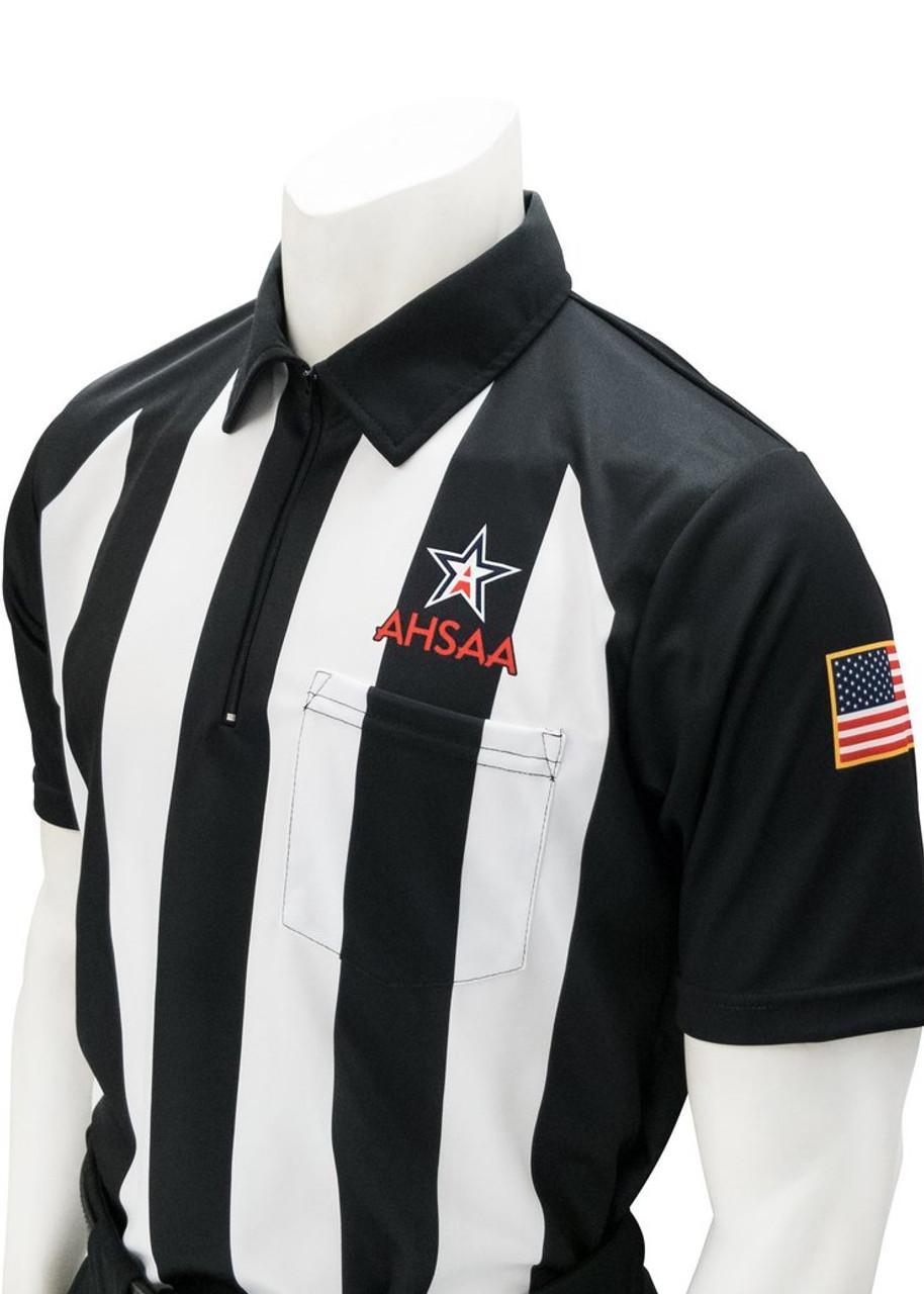 Smitty Official's Apparel Alabama AHSAA Short Sleeve Football Referee Shirt