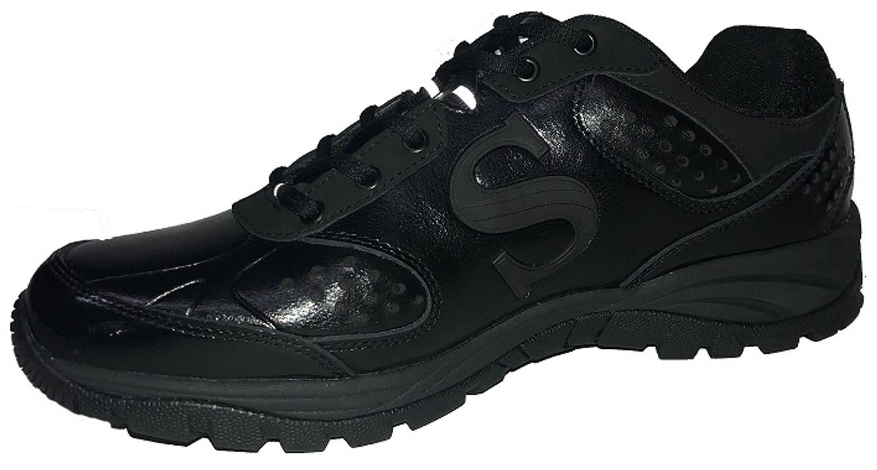 e6140a59740 Smitty All-Black Umpire Field Shoes