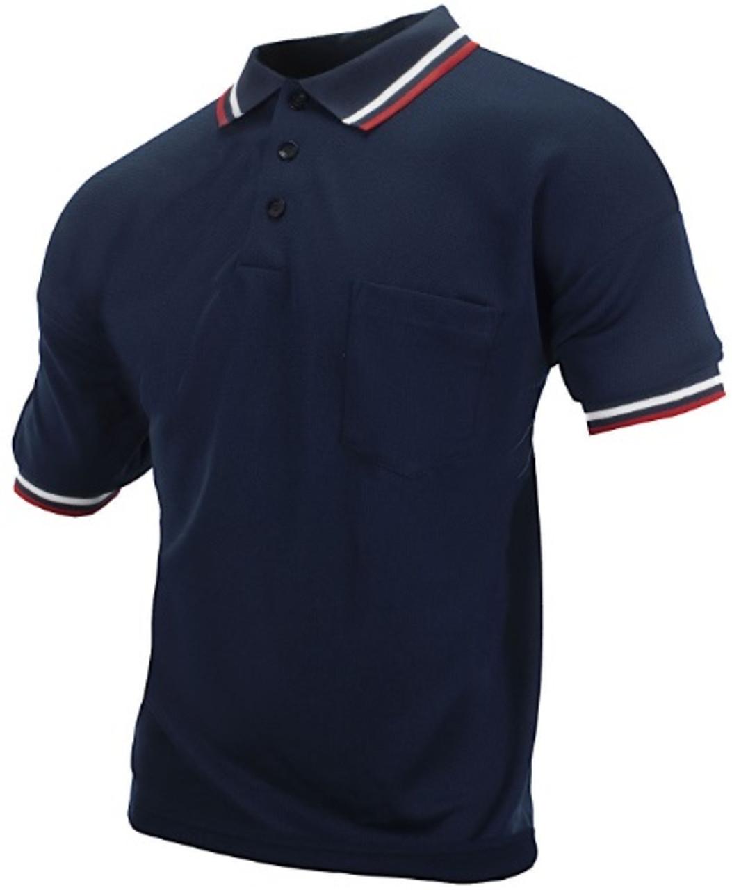 Cliff Keen Embroidered Iowa IHSAA Navy Umpire Shirt