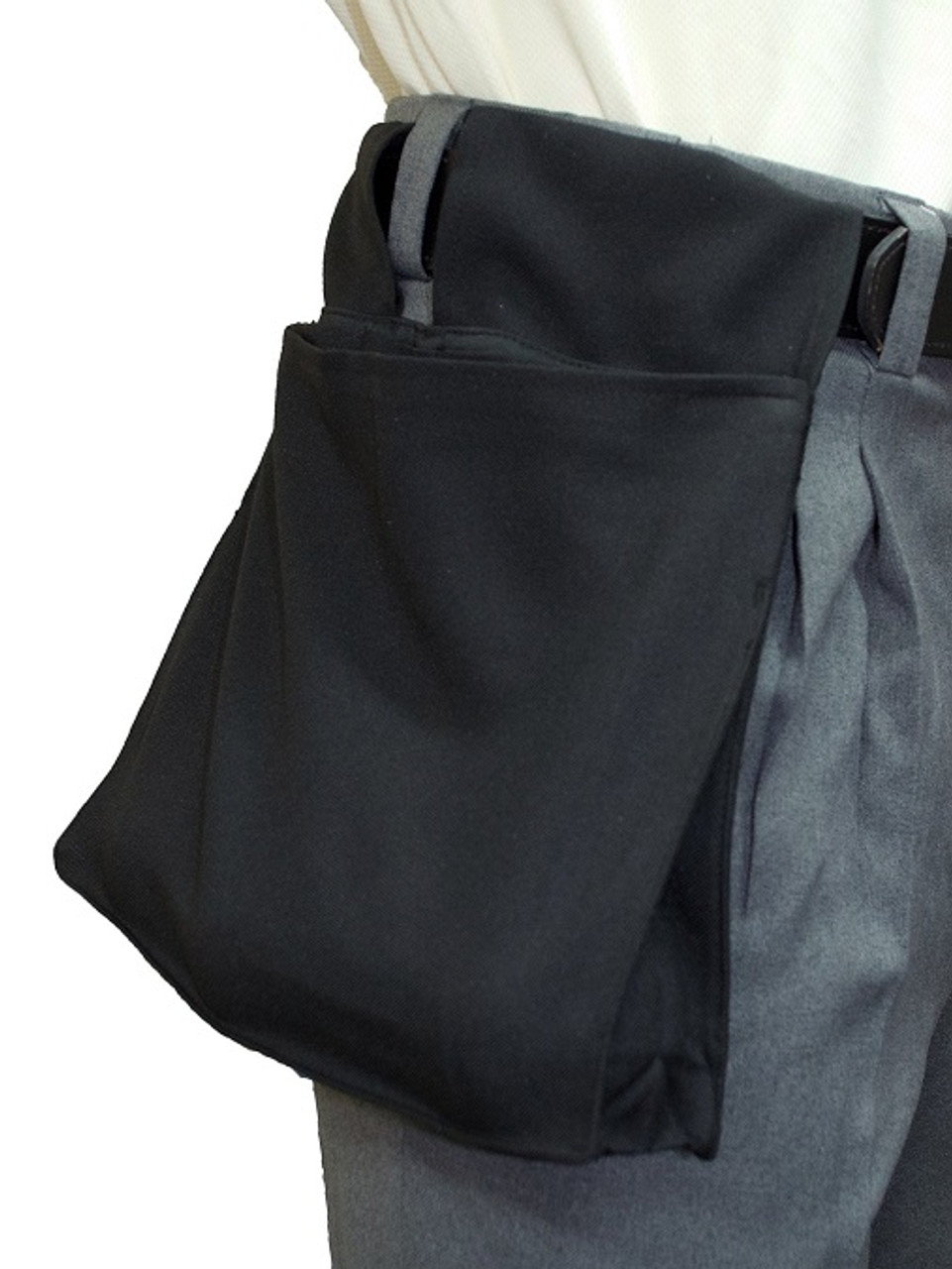 Smitty Black Deluxe Ball Bag w/ Expandable Insert