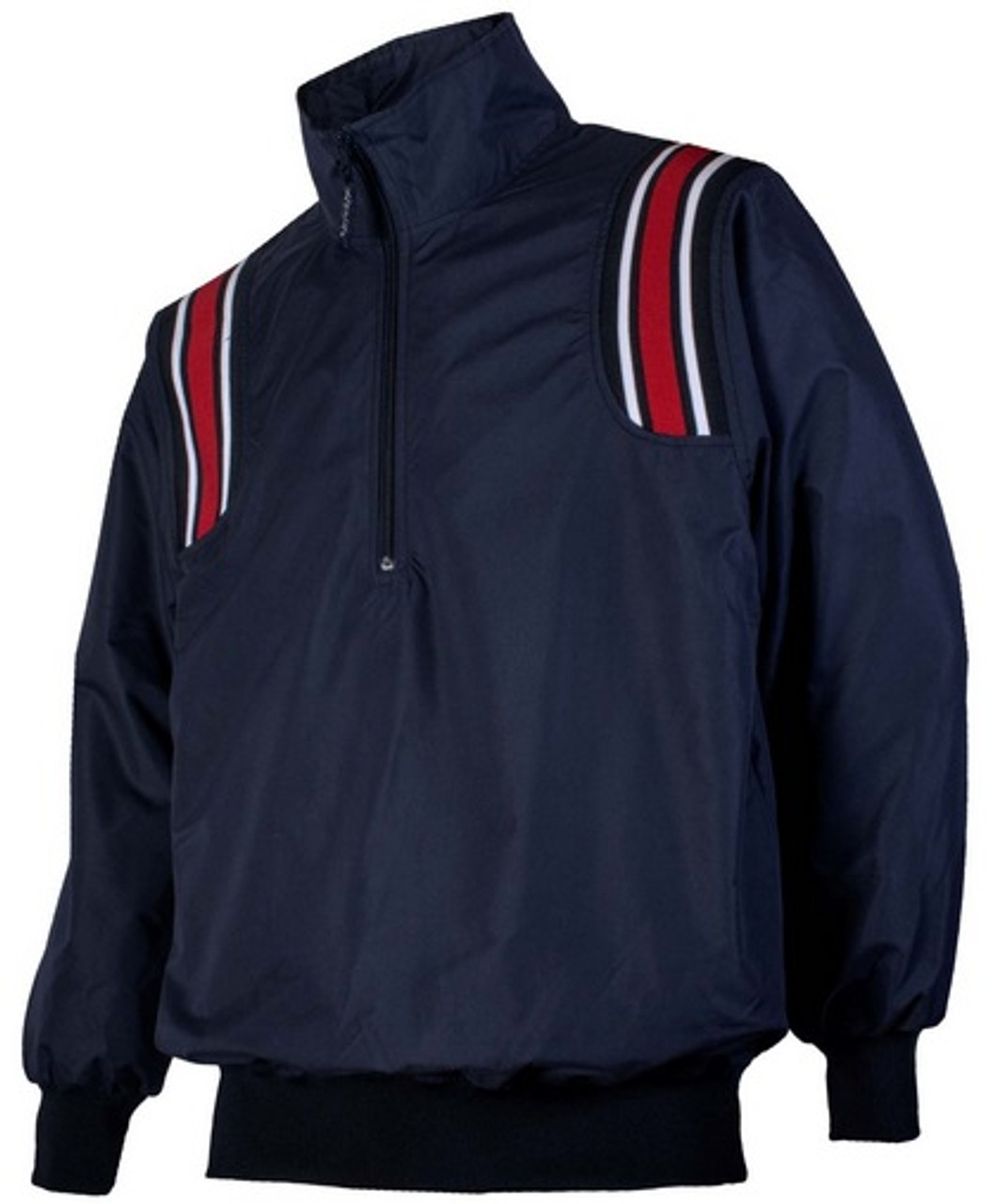 Illinois IHSA Honig's Navy Umpire Pullover with Red Trim