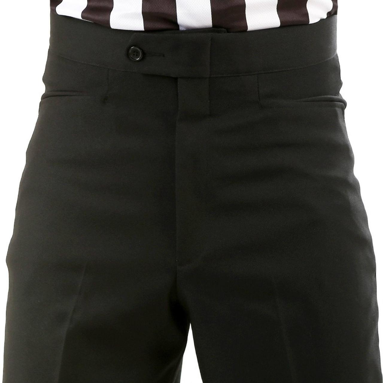 Smitty Flat Front Western Pocket Referee Pants