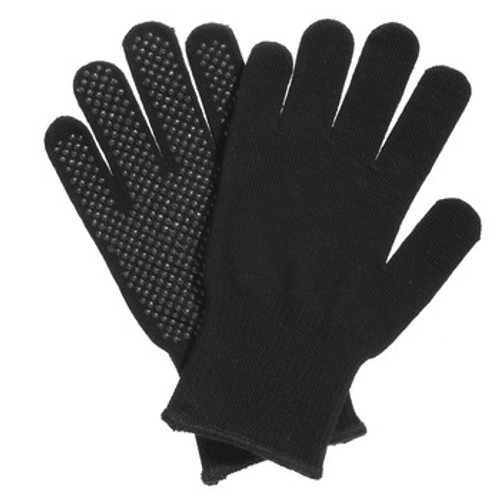 Manzella Black Knit Referee Gloves