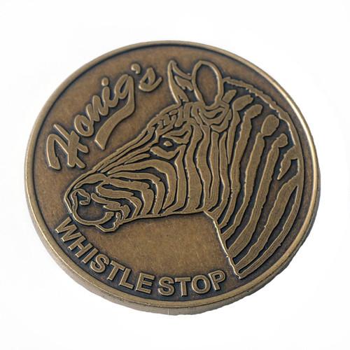 Honig's Football Flipping Coin
