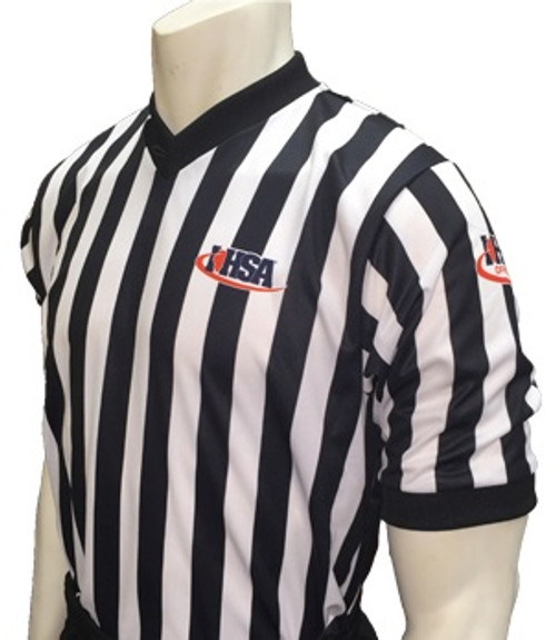 Illinois IHSA Body Flex® Basketball Referee Shirt
