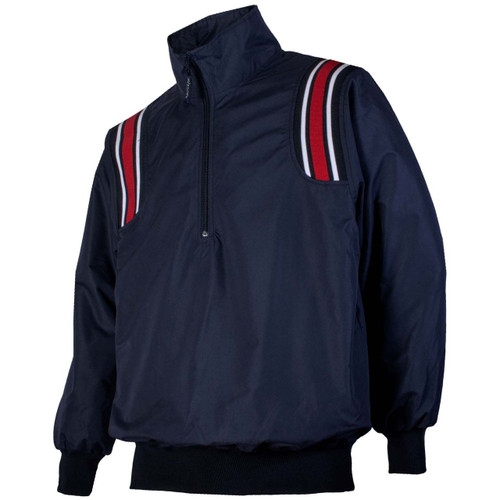 Honig's Navy Umpire Pullover with Red/White Trim
