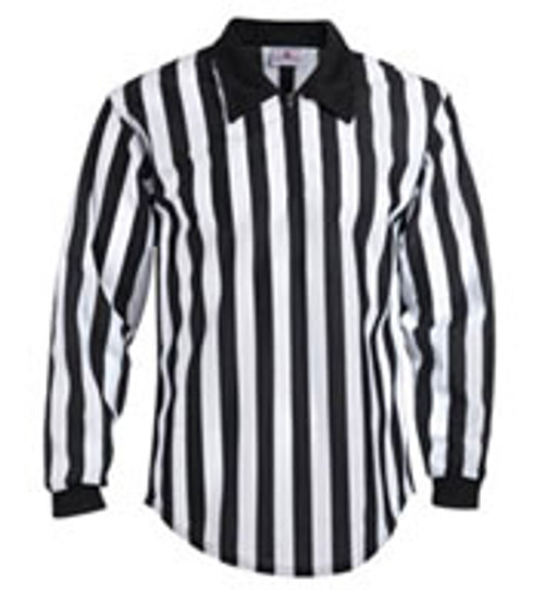 "Cliff Keen 1"" Stripes Ultra Mesh™ Long Sleeve Referee Shirt"