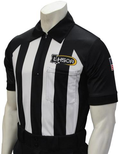 Smitty Official's Apparel Louisiana LHSOA Dye Sublimated Body Flex® Football Referee Shirt