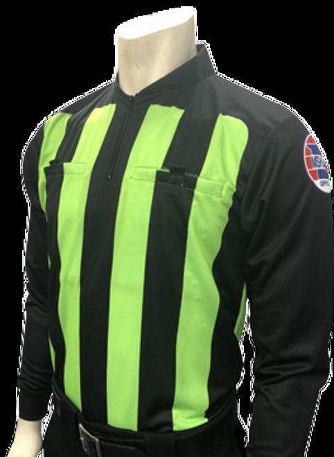 Missouri MSHSAA Long Sleeve Soccer Referee Shirt