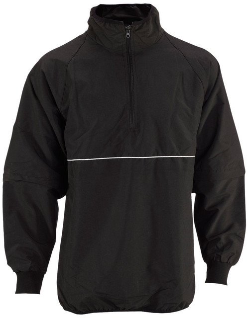 Smitty Black with White Trim Pro-Series Convertible Umpire Jacket