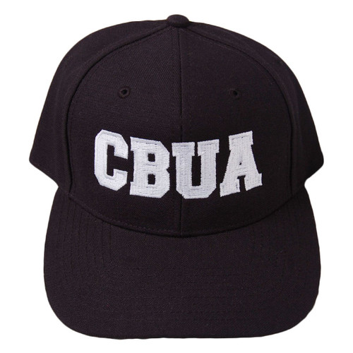 CBUA Fitted Wool 8-stitch Umpire Cap