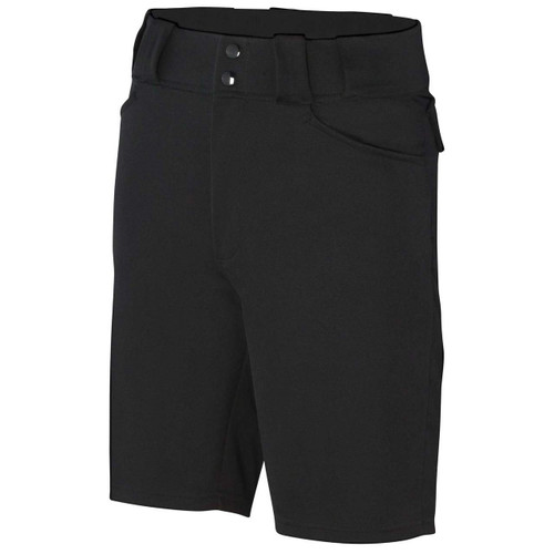 Smitty Black Football Referee Shorts
