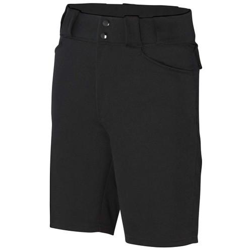Smitty Black Football Referee Shorts
