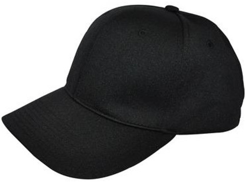 Smitty Black Flex-Fit Umpire Base Cap